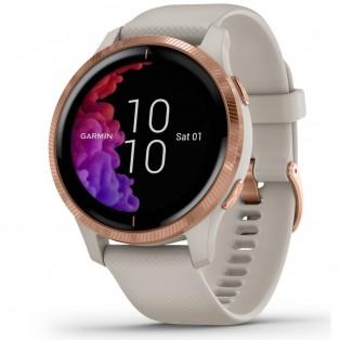 Garmin Venu 010-02173-22 GPS Watch Light Sand met Rosegold