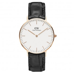 Daniel Wellington Classic 40mm Reading Rose Gold