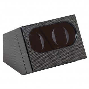 Watch-a-Round Duo Watchwinder Carbon