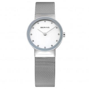 Bering 10126-000 Polished Silver Dameshorloge