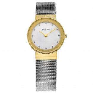 Bering 10126-001 Polished Gold Dameshorloge
