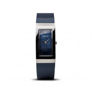 Bering 10817-307-S Blue Square Curved horloge