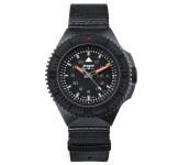 Traser P69 Black Stealth Black Nato Horloge