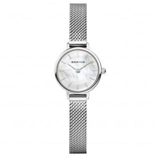 Bering 11022-004 Zilver Horloge