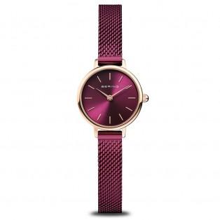 Bering 11022-969 Paars Rosegoud Horloge