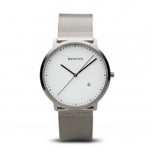 Bering 11139-004 Classic Zilver Mesh Horloge