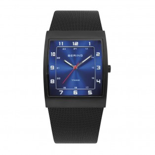 Bering 11233-227 Titanium Rechthoekig Horloge