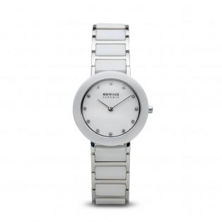 Bering 11429-754 Ceramic 29mm White Silver
