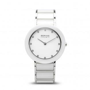 Bering 11435-754 Ceramic White Silver