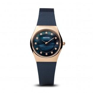 Bering 11927-367 Blue Rosegold Dameshorloge