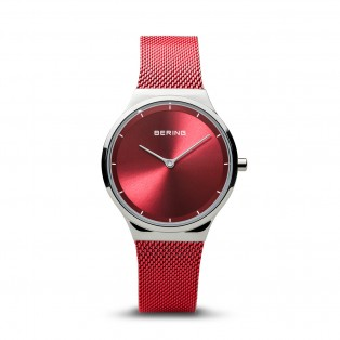 Bering 12131-303 Polished Silver Red