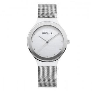 Bering 12934-000 Silver Dameshorloge
