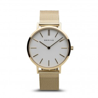 Bering 14134-331 Gold 34mm Mesh