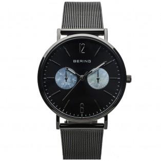 Bering 14236-123 Polished Mesh 36mm Horloge