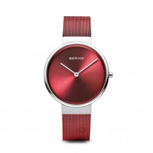 Bering 14531-303 Silver Red Dameshorloge