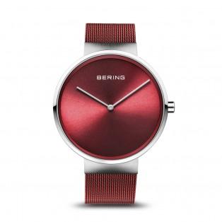 Bering 14539-303 Silver Red Dameshorloge