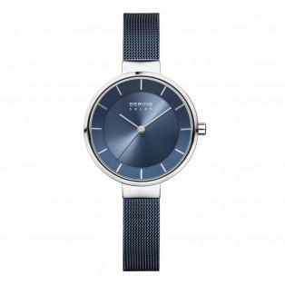 Bering 14631-307 Slim Solar Blue Dameshorloge