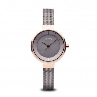 Bering 14631-369 Slim Solar Grey Dameshorloge