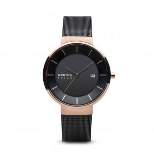 Bering 14639-166 Solar 39mm Horloge