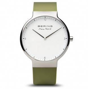 Max René 15540-800 Silver Green Silicone