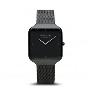 Max René 15836-123 Mat Zwart Horloge