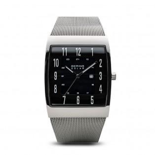 Bering 16433-002 Solar Rechthoekig Horloge