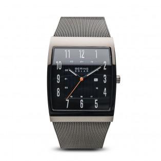 Bering 16433-377 Solar Rechthoekig Horloge