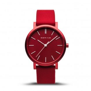 Bering 16934-599 True Aurora Mat Rood Horloge