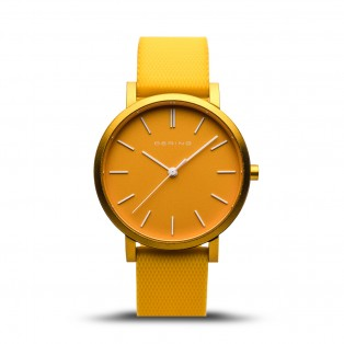 Bering 16934-699 True Aurora Mat Yellow Horloge
