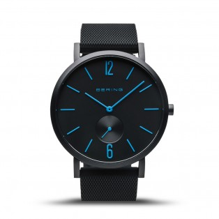 Bering 16940-499 True Aurora Mat Zwart Horloge