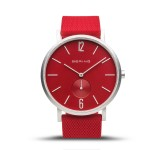 Bering 16940-509 Aurora Mat Rood Horloge