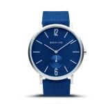Bering 16940-709 Aurora Mat Blauw Horloge