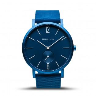Bering 16940-799 True Aurora Mat Blauw Horloge