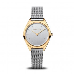 Bering 17031-010 Ultraslim Polished Gold Dameshorloge