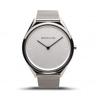 Bering 17039-000 Ultraslim Silver 39mm Horloge