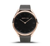 Bering 17039-166 Ultraslim Rosegold 39mm Horloge