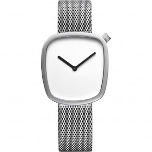Bering 18034-004 Pebble 34mm Silver