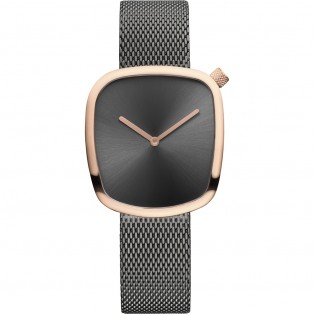 Bering 18034-369 Pebble 34mm Grey Rosegold