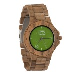 1915 Watch Walnut Men Orange Green 46 mm