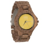 1915 Watch Walnut Men Orange Yellow 46 mm
