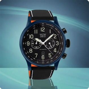 Davis Aviamatic Watch 48mm 1981