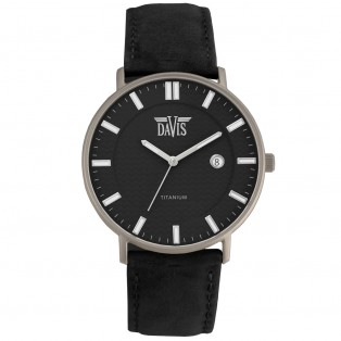 Davis Boston 2070 Titanium Horloge