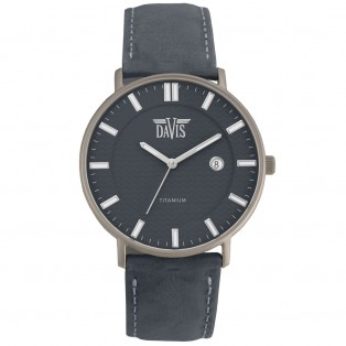 Davis Boston 2072 Titanium Horloge