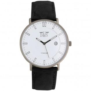 Davis Boston 2076 Titanium Horloge