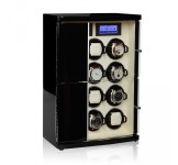 Modalo Timeless Automatic 12 Watch Winder - Black Beige