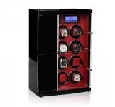 Modalo Timeless Automatic 12 Watch Winder - Red Black