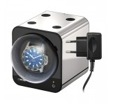 Beco Boxy Fancy Brick PLATINUM Watchwinder plus Adapter
