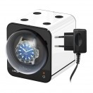 Beco Boxy Fancy Brick White Watchwinder plus Adapter