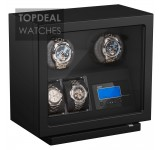 Beco BLDC Black Watchwinder voor 2 plus 2 horloges