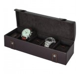 Beco Garrett Lederen Watchbox voor 5 horloges